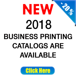 New 2018 Business Printing Catalog